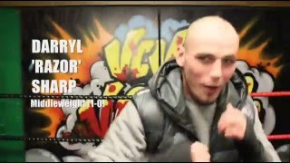 Darryl 'Razor' Sharp and coach Kieran Farrell interview