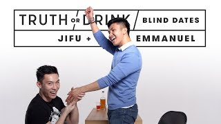 Blind Dates Play Truth or Drink (Emmanuel & Jifu) | Truth or Drink | Cut