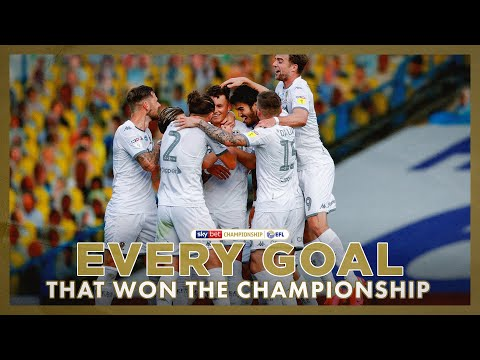 EVERY Leeds United goal that won the Championship title! | 2019/20 season