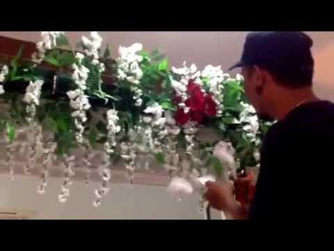 Cara Rangkai Bunga Mix Plastik Dan Asli Youtube