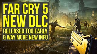 Far Cry 5 DLC Released TOO EARLY, Release Date Shown On Xbox & More New Info (Far Cry 5 Zombie DLC)