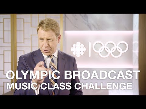 Get Your Music Class On The CBC Olympic Broadcast! #CBCMusicClass