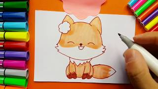 Learn How to Draw a Cute Fox