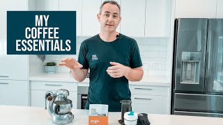 Lukes Coffee Essentials include the  La Marzocco Linea Mini, AeroPress & the Atomic coffee maker
