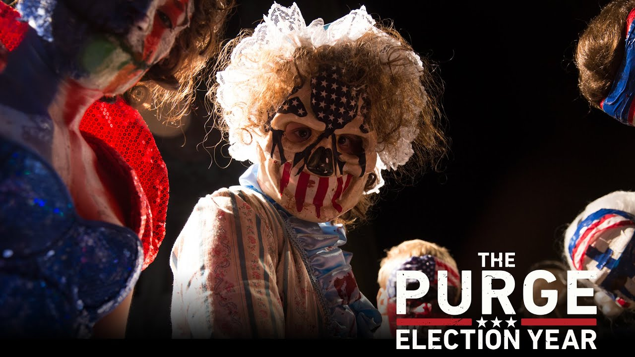 The Purge Election Year Poster Wallpapers: Now Playing (TV Spot 33) (HD