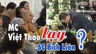 """MC Việt Thảo bất ngờ """"Lạy"""" SC Bích Liên"""