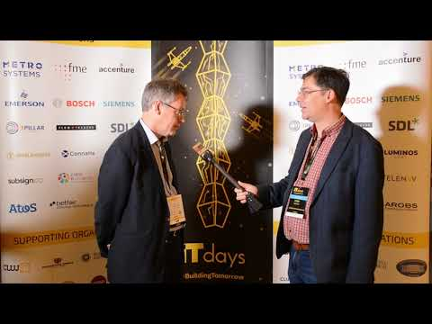 Interview with Dermot Turing – IT Days 2018