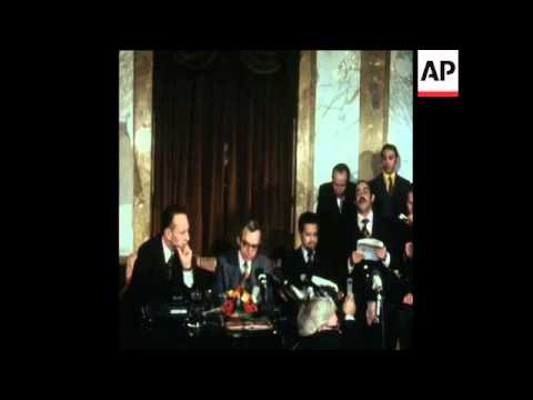 SYND 19-3-74 OPEC MEETING IN VIENNA ENDS AND SPOKESMAN READS COMMUNIQUE
