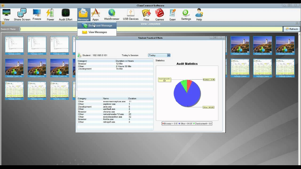 Classconnect Smart Classroom Management Software Youtube