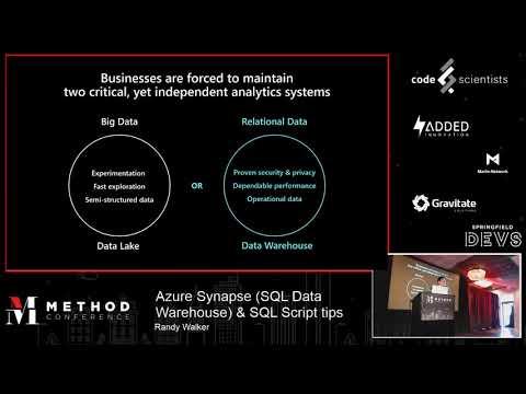 azure-synapse-(sql-data-warehouse)-&-sql-script-tips-by-randy-walker-@-method-conference
