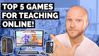 Top 5 Games For Teaching English Online | Teach English Online With Dingtalk  Dingding