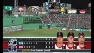 MLB 08 The Show: Toronto at Boston: Game 28