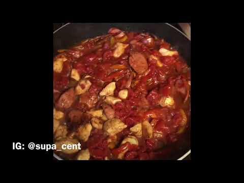 Cajun Jambalaya Pasta (CookingWithSupa)