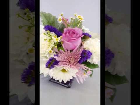 Pam's Posies Your Akron Florist Exclusive Design - Purple Passion