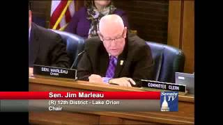 SENATE HEALTH POLICY COMMITTEE, May 1, 2014: SENATOR JIM MARLEAU, CHAIR