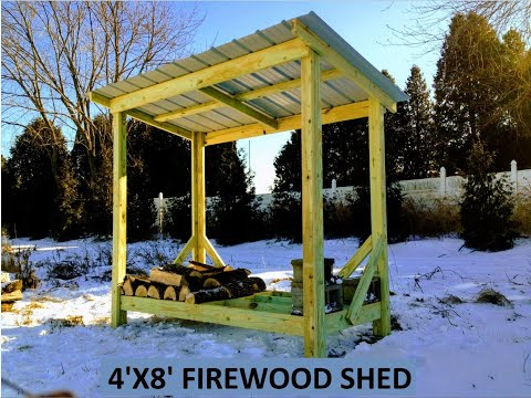 Firewood Shed (How to Build)