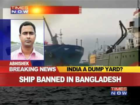 India a dumping ground for toxic ships?