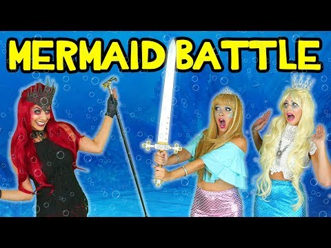 Mermaids vs. Sea Witch. Tails of the Blue: Mermaid Squad Saves the Day. Totally TV