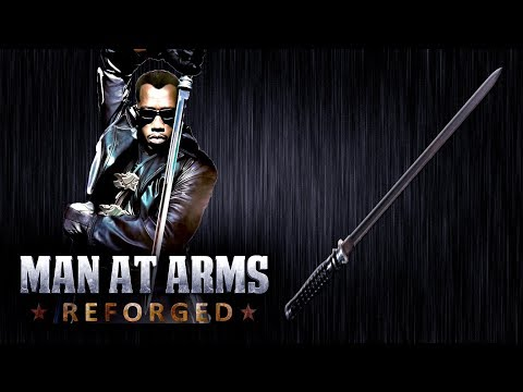 Blades Sword  Marvel Blade Trilogy  MAN AT ARMS: REFORGED