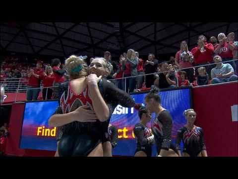 Highlight: Utah gymnastics' MaKenna Merrell-Giles scores a perfect 10 on vault