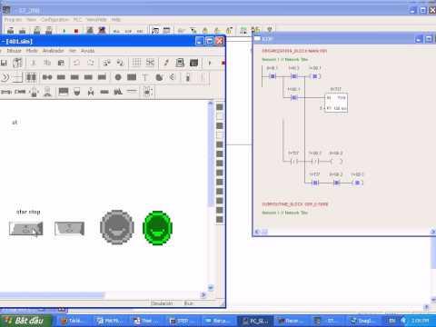 Bài tập : Khởi động động cơ 3 phase lồng sóc plc s7-200