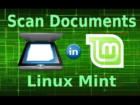 Scan Documents in Linux Mint 17 2