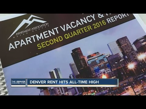 Denver rent hits all-time high