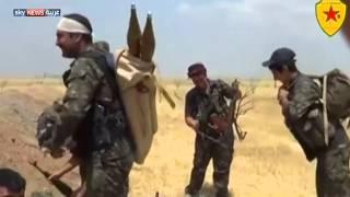 قصف مواقع داعش في محيط الحسكة