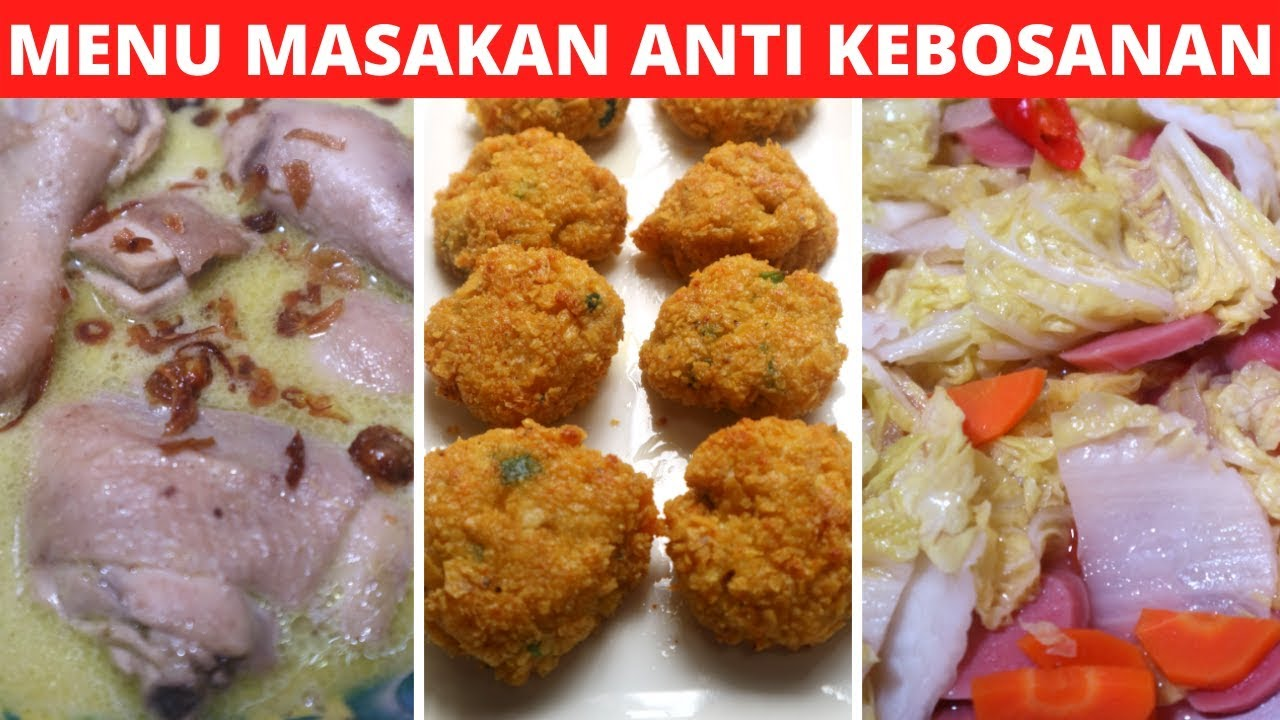3 MENU IDE MASAKAN SEHARI HARI PART 59 Resep Masakan ...