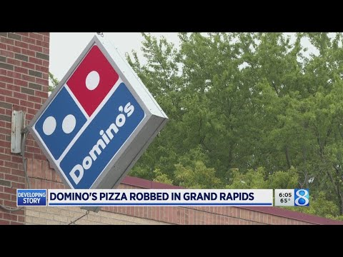 Domino's Pizza Robbed At Gunpoint In GR