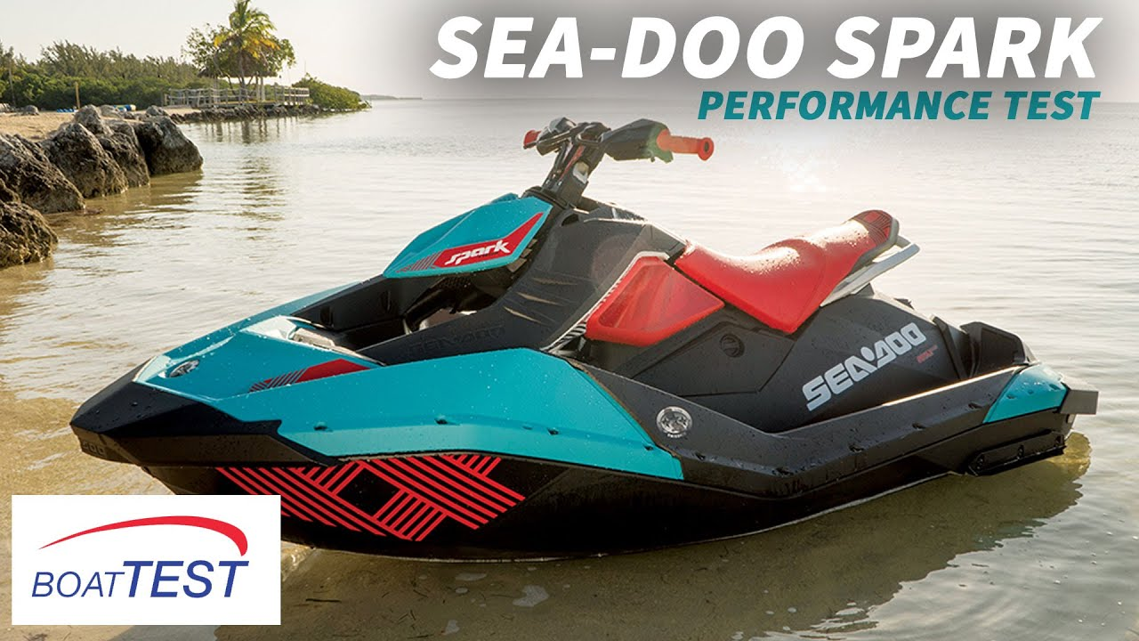 Sea-Doo Spark Test 2016- By BoatTest com