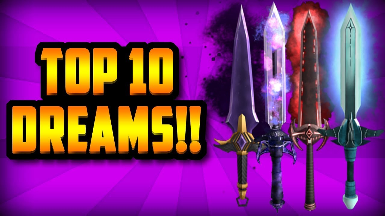 Top 10 Dream Knives Roblox Assassin Youtube