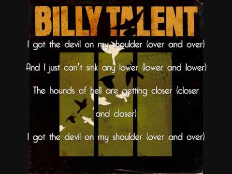 Devil on my shoulder billy talent [ guitar backing tracks.