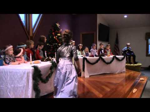 Good King Wenceslas Play, at Dubuque Community Church 2015 (Live Music)