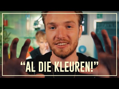 Bastiaan sees everything moving after taking 2CB  Drugslab
