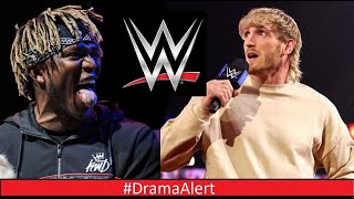 Logan Paul vs KSI ( WWE ) #DramaAlert - David Dobrik & Vlog Squad Dom Return! Social Gloves BOXING!
