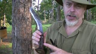 VINTAGE WOODSCRAFT...THE  KUKRI