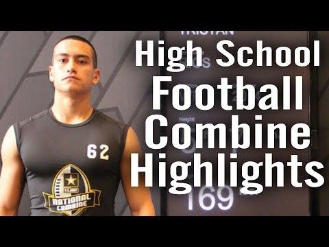 COMBINE MVP | High School Football Combine Highlights