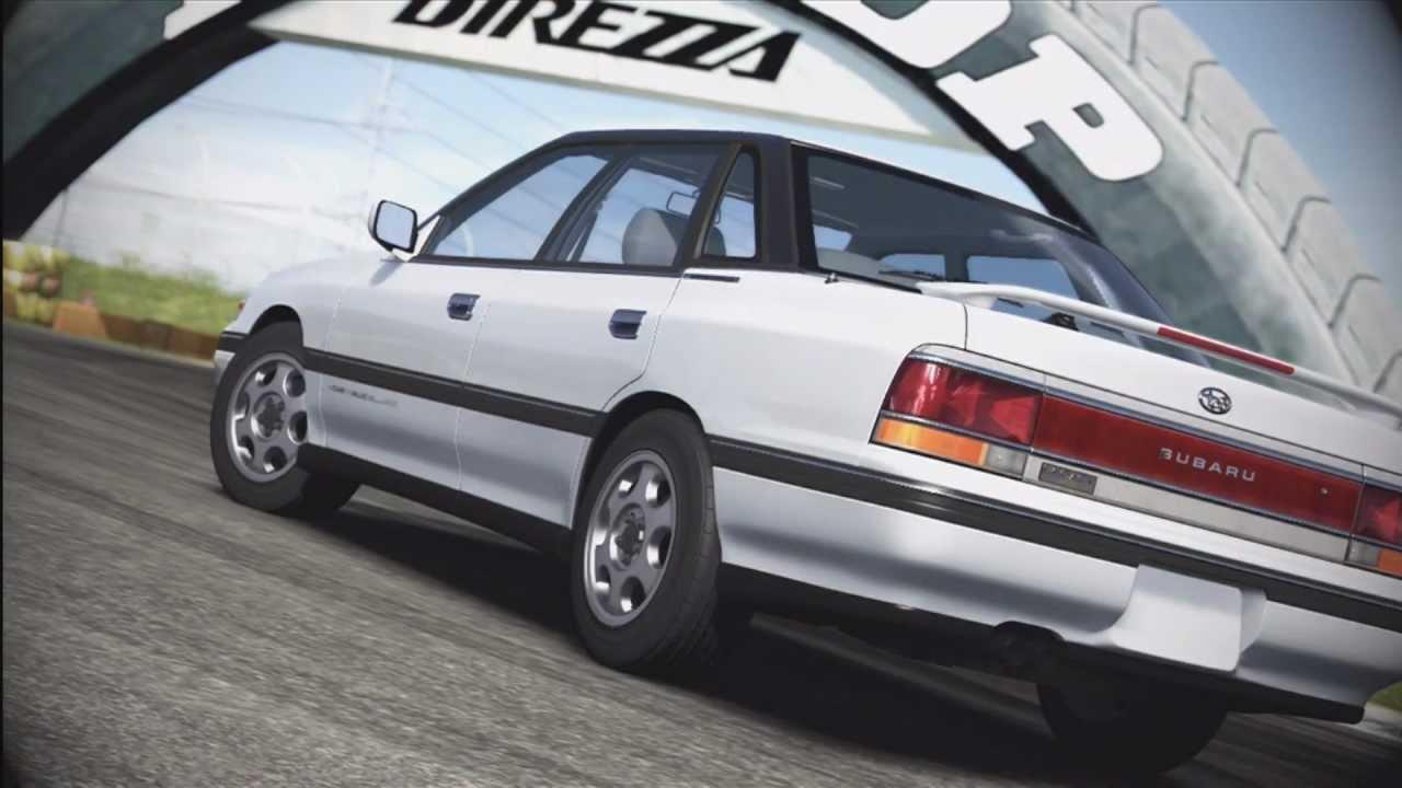 1990 subaru legacy rs review forza 4 may top gear dlc - youtube