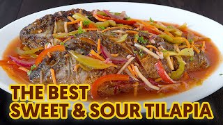Sweet and Sour Fish | Easy Sweet Sour Sauce | Tilapia Recipe