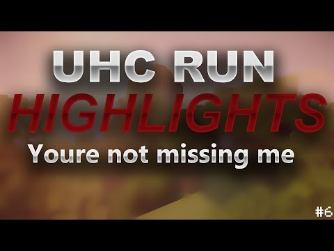 """[40 likes?] """"Youre Not Missing Me"""" - UHC Run Highlights #6 [CZ/SK]"""