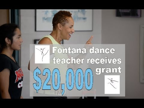 High school dance teacher in Fontana receives $20,000 grant