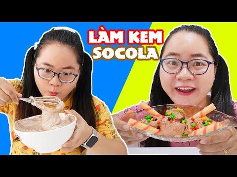 Làm Kem Socola Với 3 Thành Phần Đơn Giản - Ăn Thử Tôm Hùm Sốt Trứng Muối