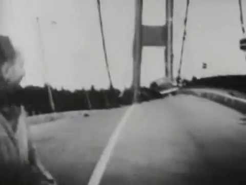 Tacoma Narrows Köprüsü Yıkılma Anı