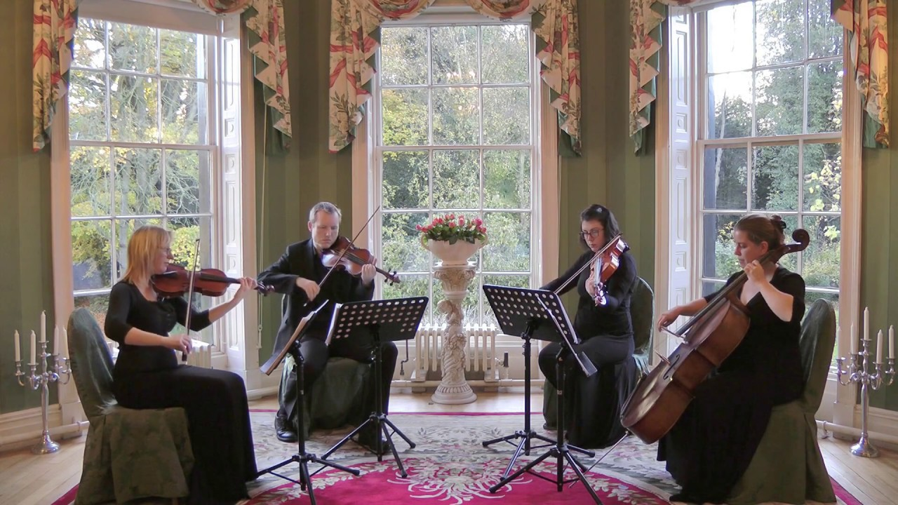 Could It Be Magic (Barry Manilow) Wedding String Quartet - YouTube