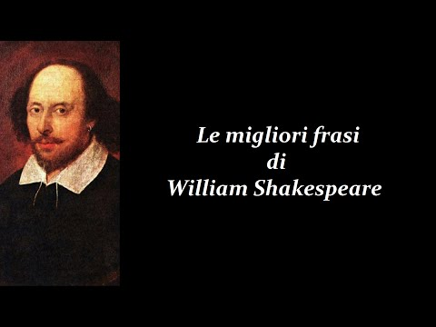 Frasi Celebri Di William Shakespeare Youtube