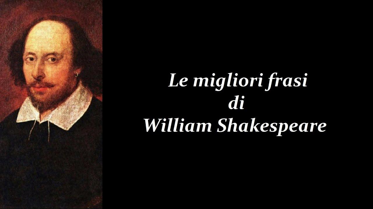 frasi sulla vita william shakespeare