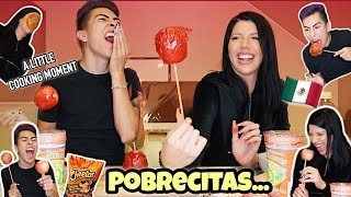 Making MANZANAS CON CHAMOY with LAURA MELLADO!! | Louie's Life