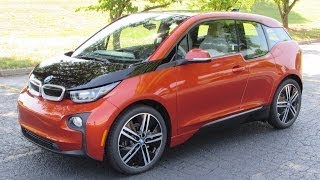2014 BMW i3 Start Up, Test Drive, and In Depth Review