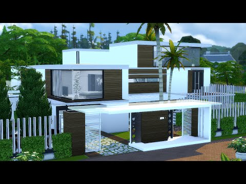Best Modern House The Sims 4 Villa Mansion